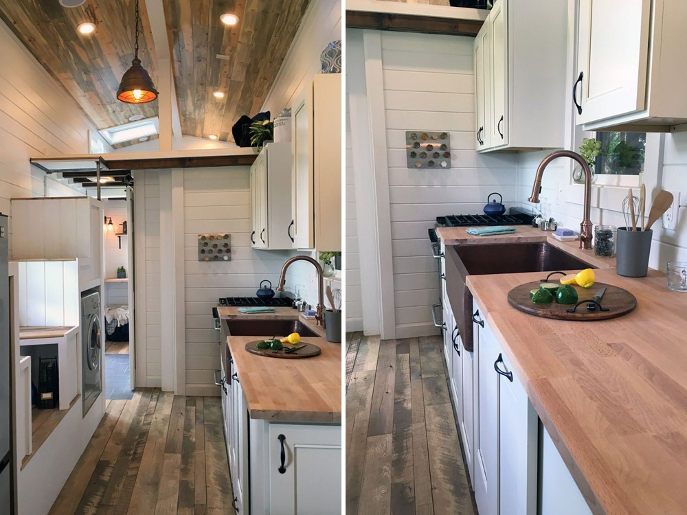 Kitchen with Long Countertop - Rocky Mountain by Tiny Heirloom