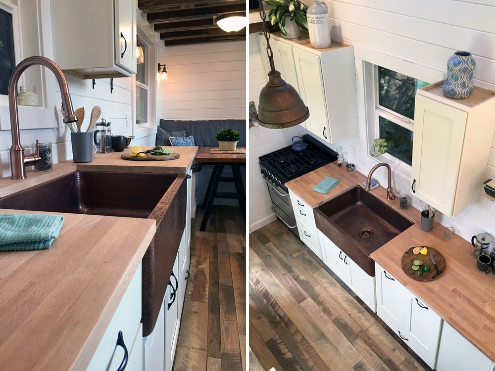 Kitchen Sink and Range - Rocky Mountain by Tiny Heirloom
