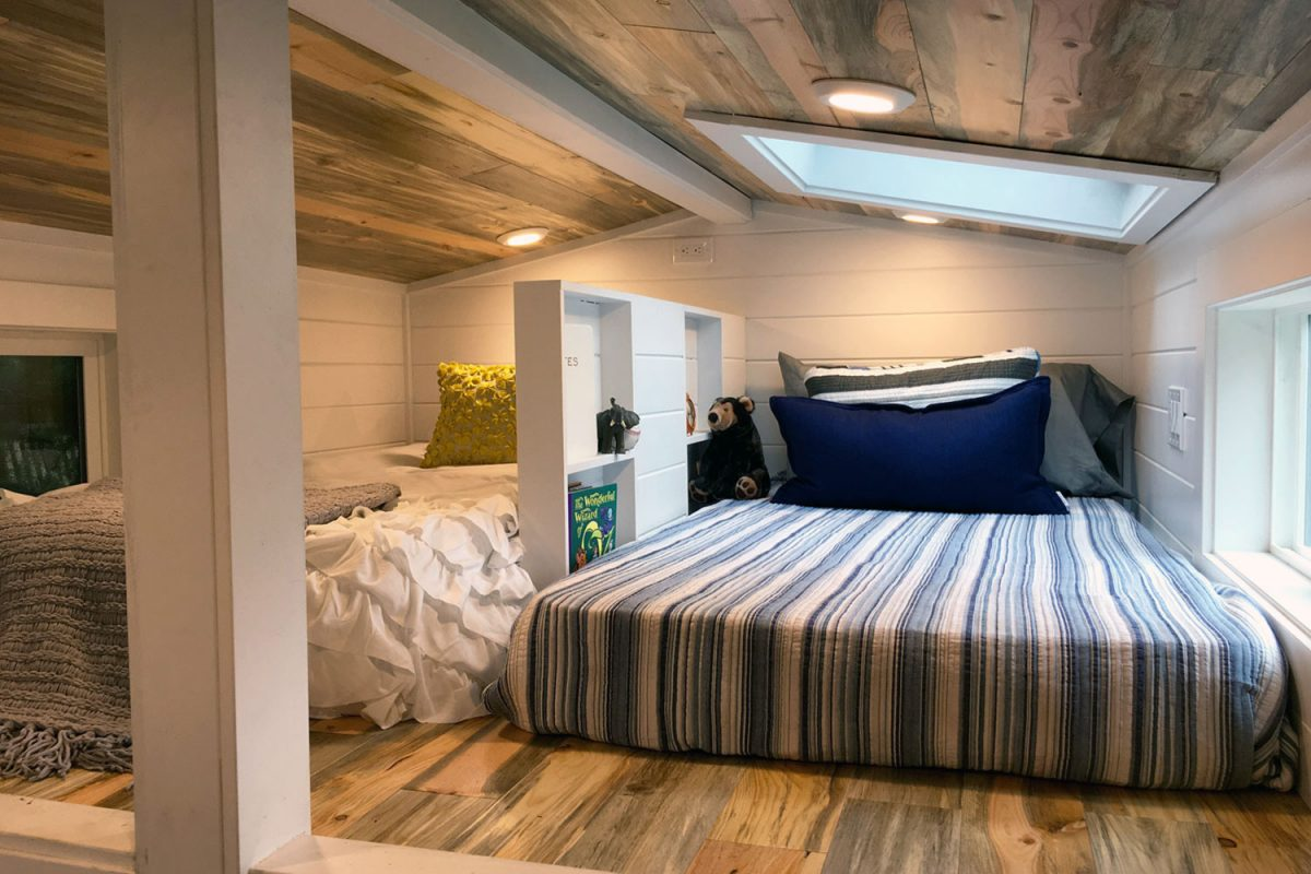 Split Bedroom Loft For Kids - Rocky Mountain by Tiny Heirloom