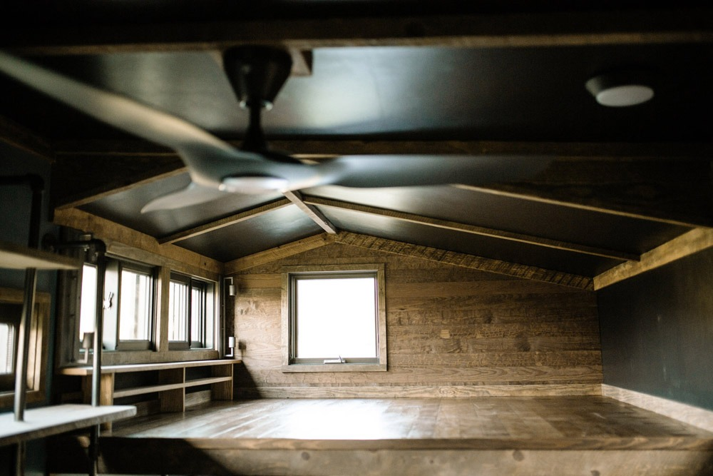 Bedroom Loft - Rook by Wind River Tiny Homes