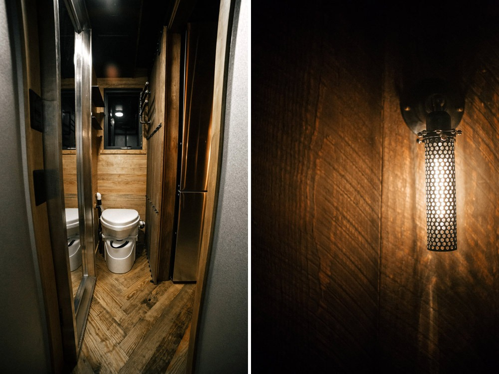 Bathroom - Rook by Wind River Tiny Homes