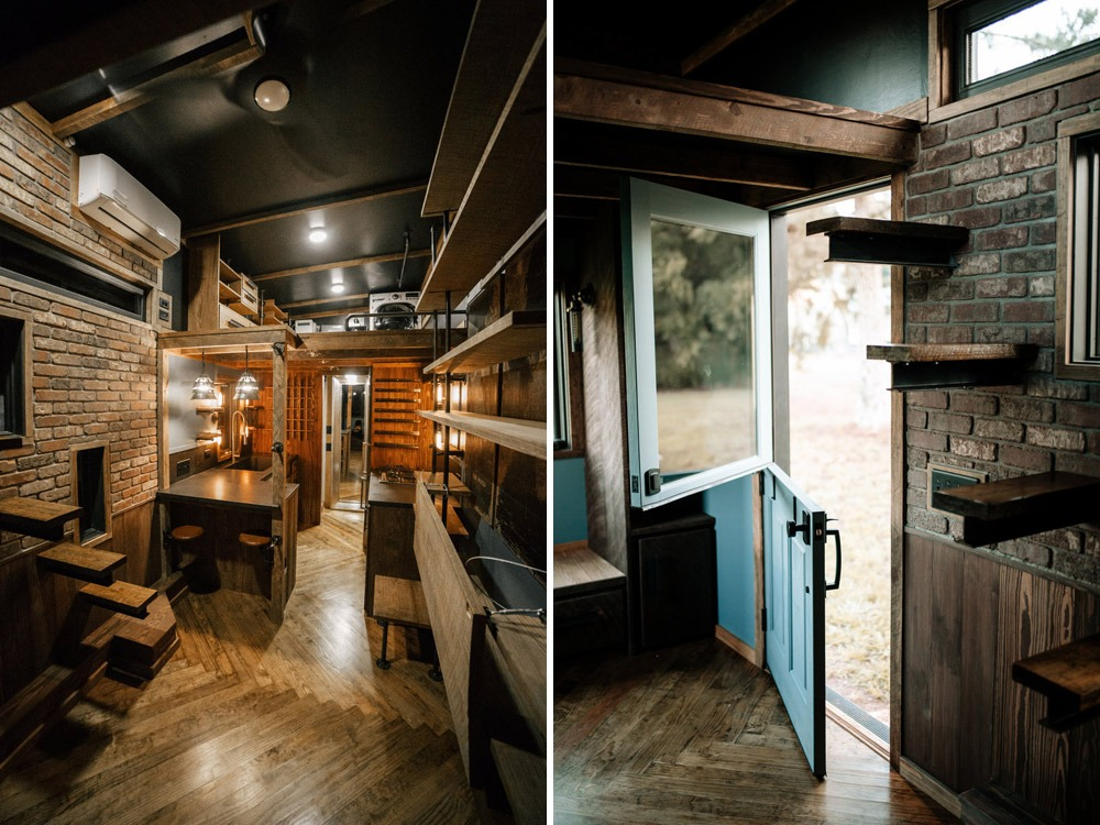 Entryway - Rook by Wind River Tiny Homes