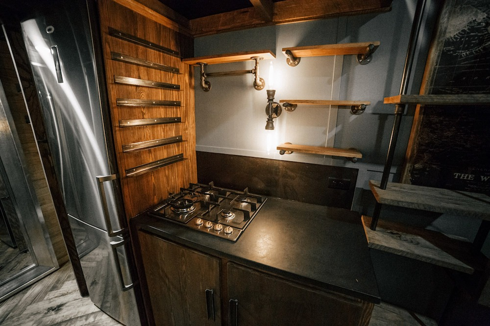 Kitchen - Rook by Wind River Tiny Homes