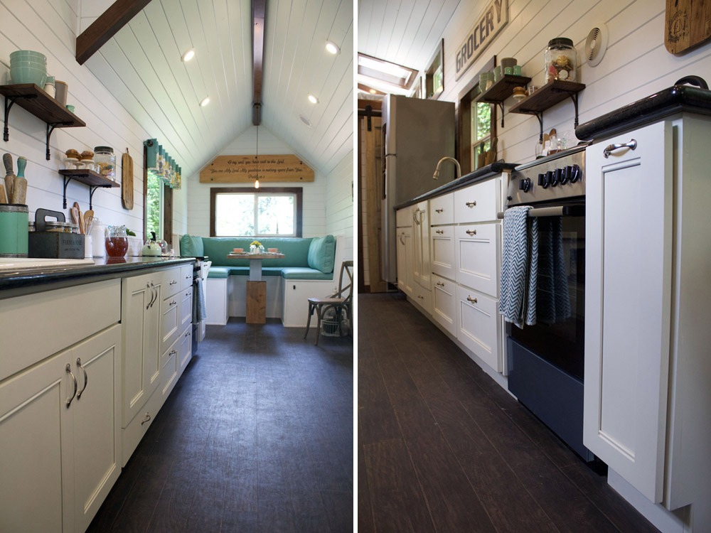 Kitchen Cabinets - Southern Charm by Tiny Heirloom