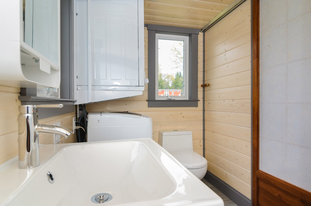 Bathroom - Sink and Toilet - Squibb by Wishbone Tiny Homes