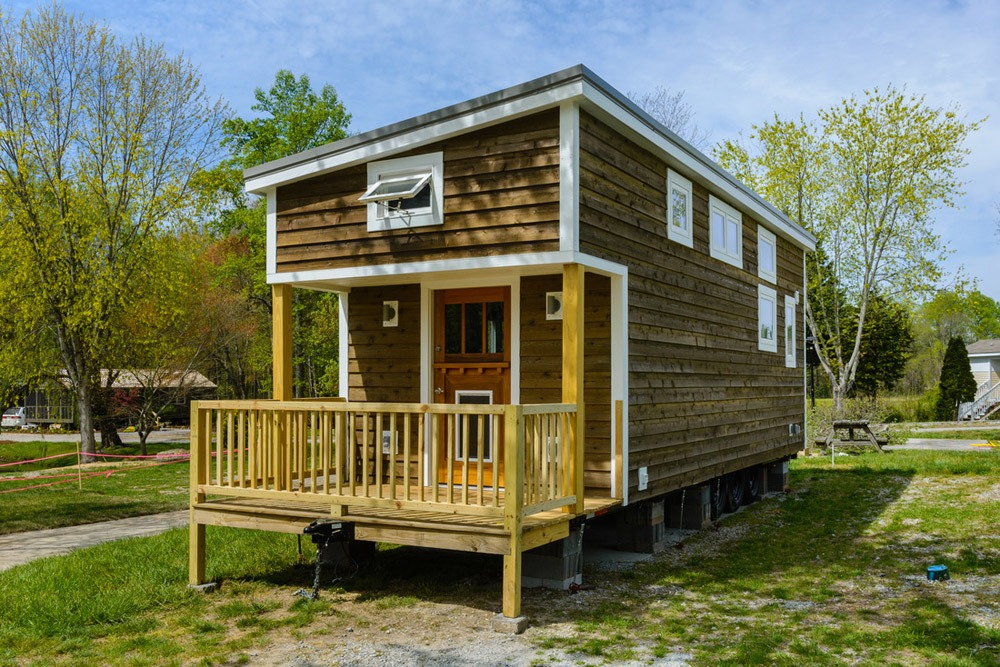 Exterior Side View - Squibb by Wishbone Tiny Homes