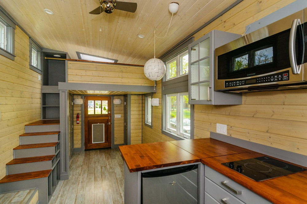 Interior View - Squibb by Wishbone Tiny Homes