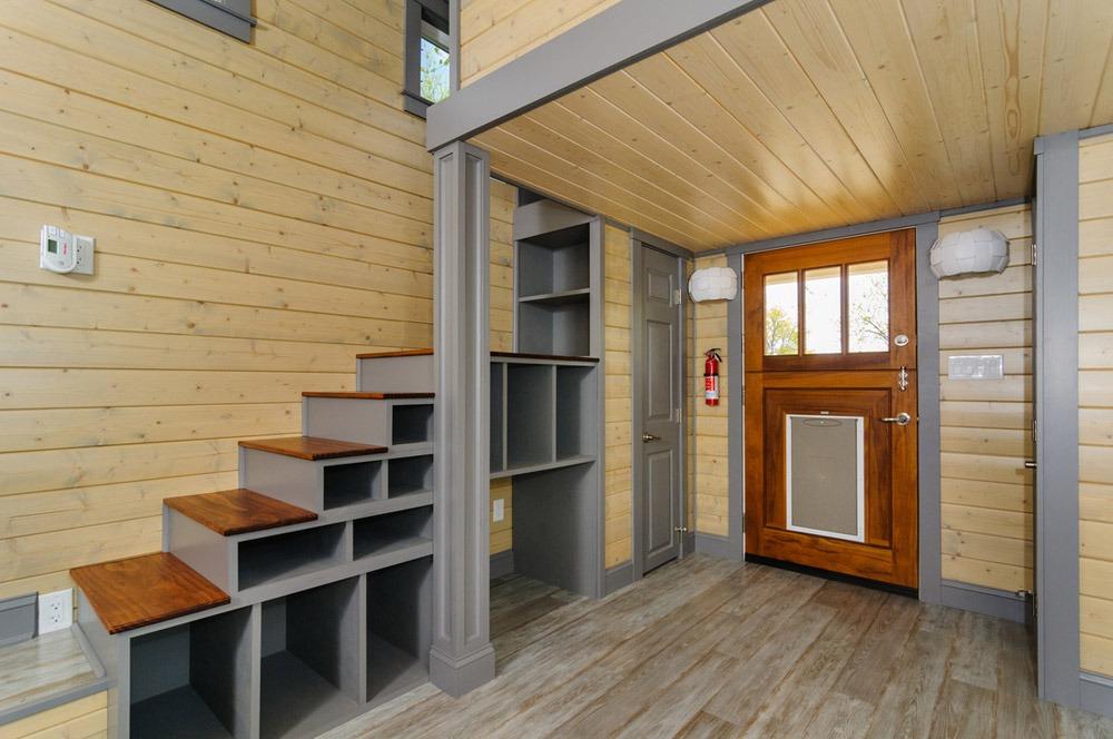 Storage Stairs - Squibb by Wishbone Tiny Homes