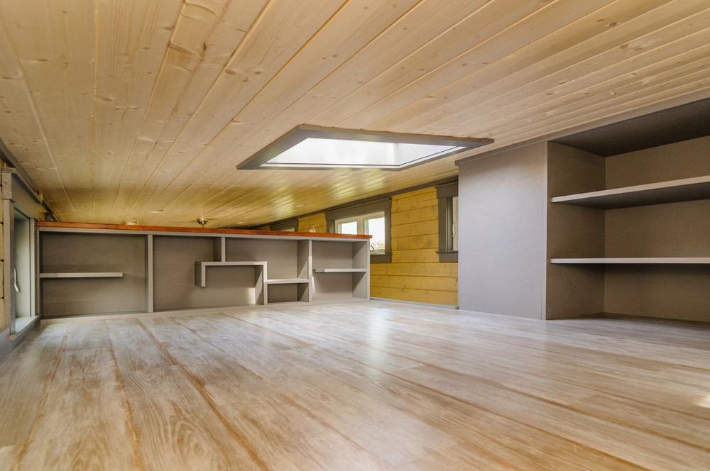 Bedroom Loft - Squibb by Wishbone Tiny Homes