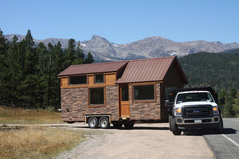 Tiny House Delivery - Stone Cottage by Simblissity