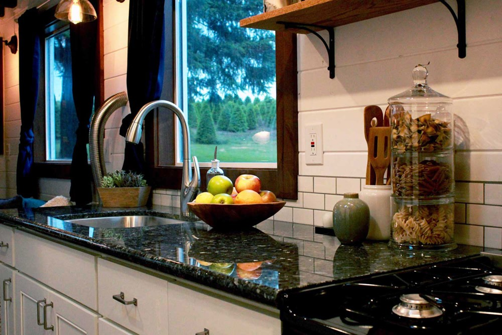 Granite Kitchen Counters - Lake Tahoe by Tiny Heirloom