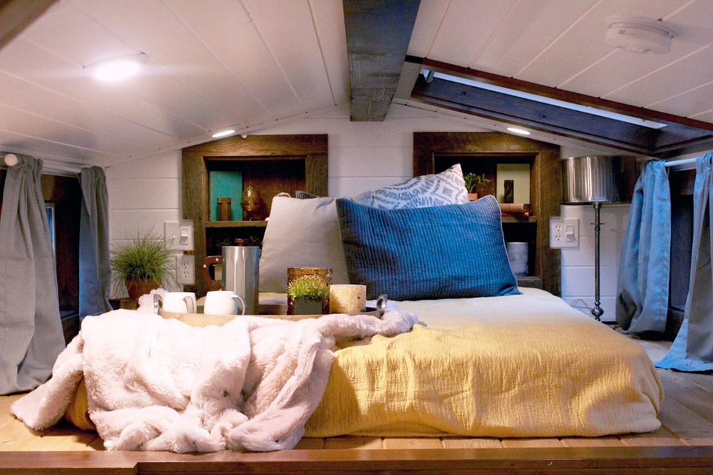 Bedroom Loft - Lake Tahoe by Tiny Heirloom