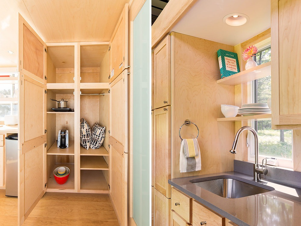 Full Height Cabinets and Kitchen Sink - Traveler by Escape Traveler