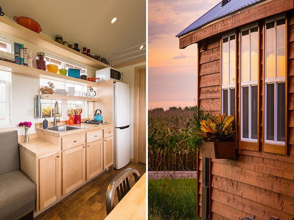 Kitchen and Exterior Detail - Vintage by Escape Traveler
