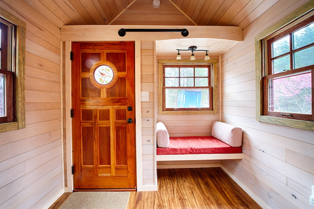 Entry Door and Couch - Weller by Wishbone Tiny Homes