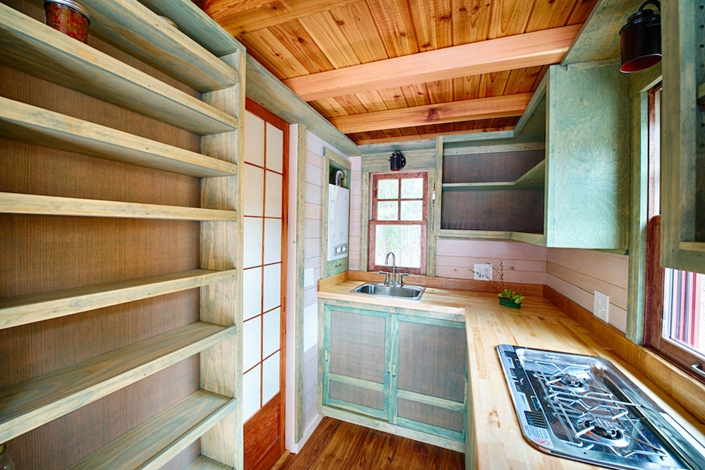 Kitchen - Weller by Wishbone Tiny Homes