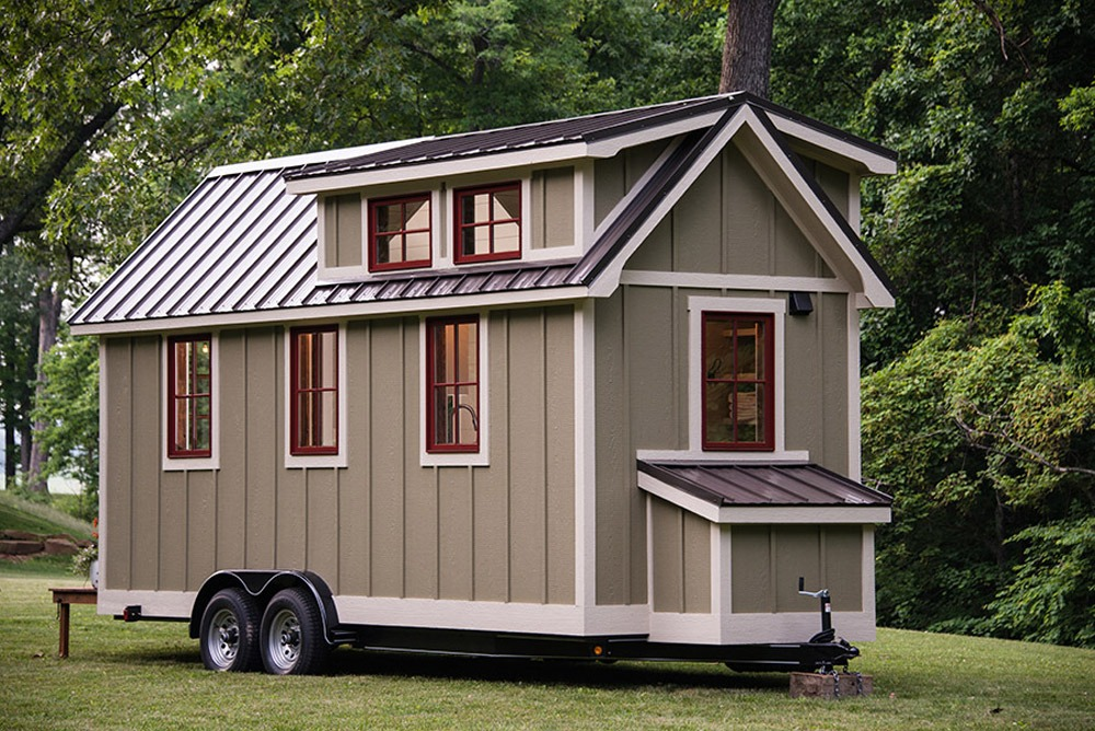 Exterior Size View - Ynez by Timbercraft Tiny Homes