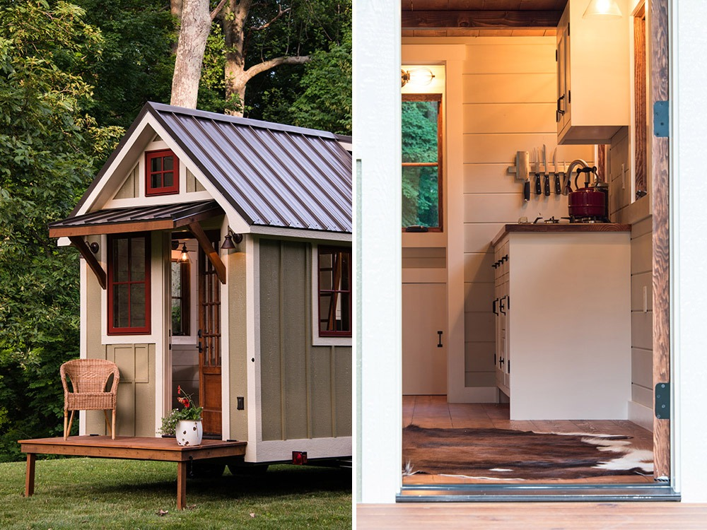 Exterior and Entry - Ynez by Timbercraft Tiny Homes