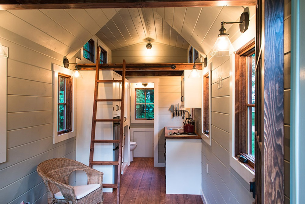 Interior View - Ynez by Timbercraft Tiny Homes