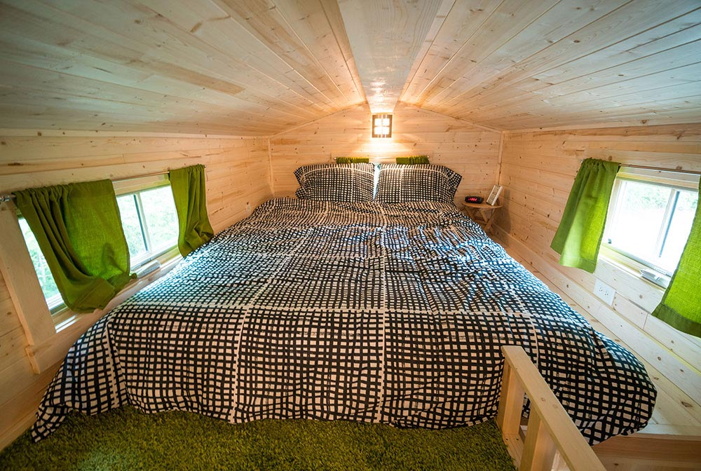 Bedroom loft - Zoe at Mt. Hood Tiny House Village