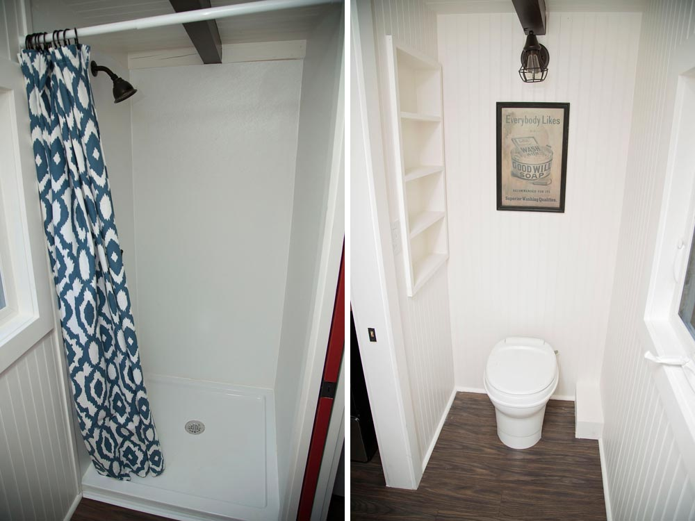 Tiny house bathroom - American Pie by Perch & Nest