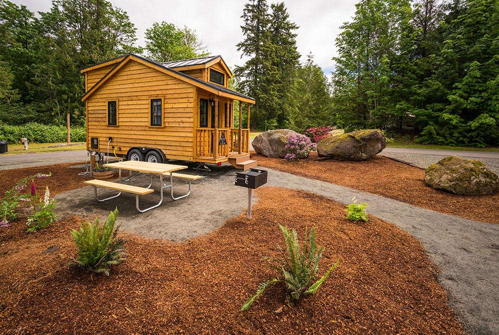 Tiny House, Great Location - Atticus at Mt. Hood Tiny House Village