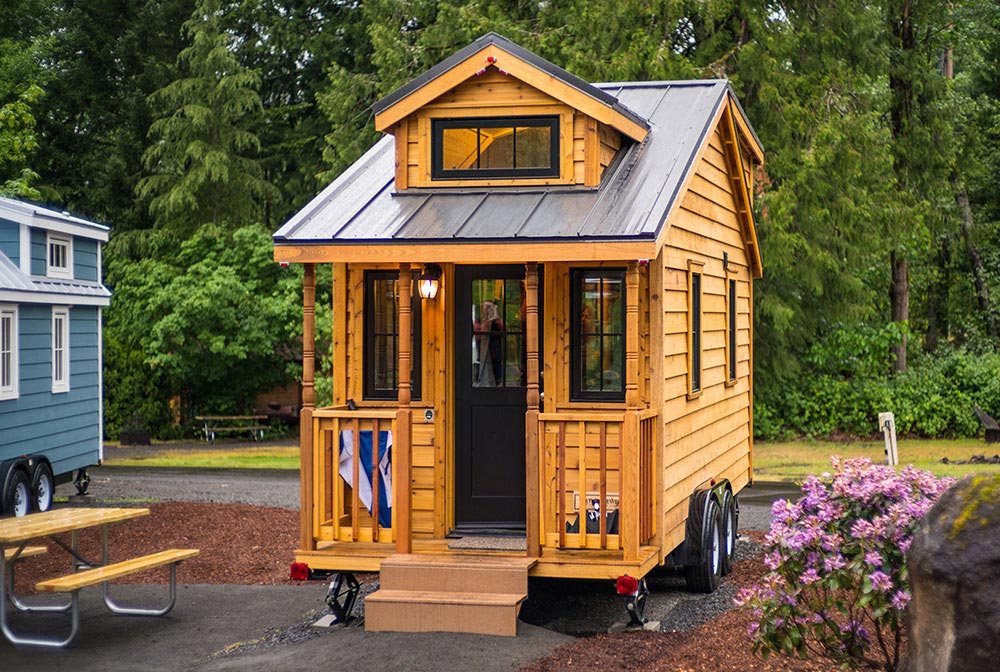 Built by Tumbleweed Tiny House Company - Atticus at Mt. Hood Tiny House Village