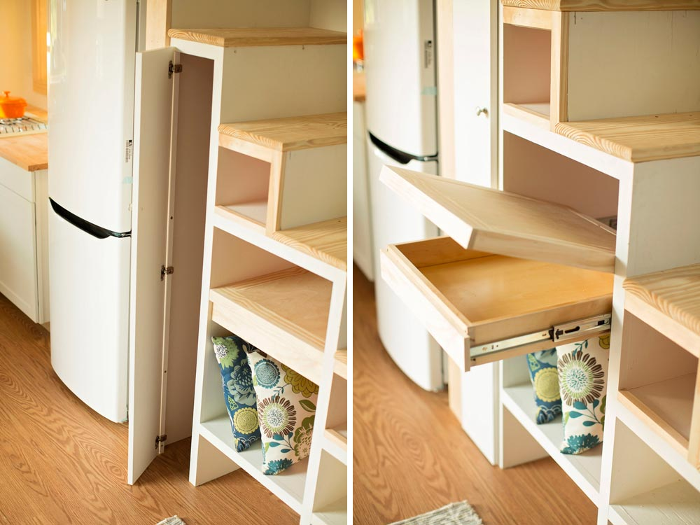 Storage stairs - Boho House by Perch & Nest