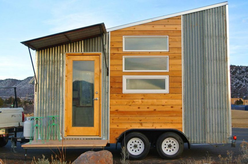 Lightweight aerodynamic tiny house - Boulder by Rocky Mountain Tiny Houses
