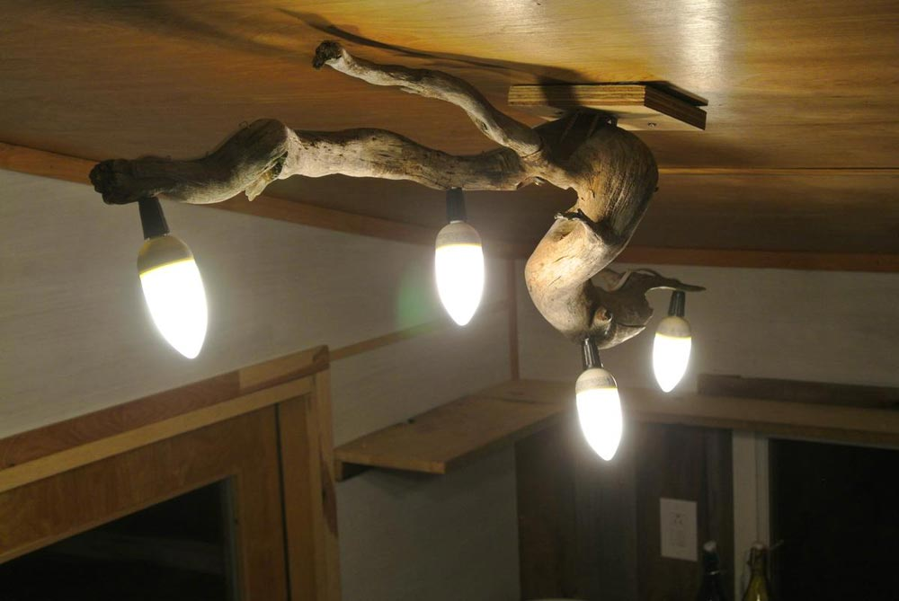 Unique light fixture - Boulder by Rocky Mountain Tiny Houses