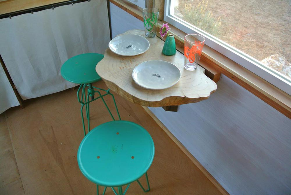 Unique dining table - Boulder by Rocky Mountain Tiny Houses