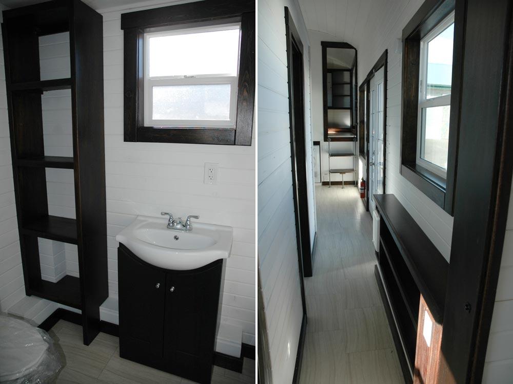 Bathroom and Hallway - Carpathian by Tiny Idahomes