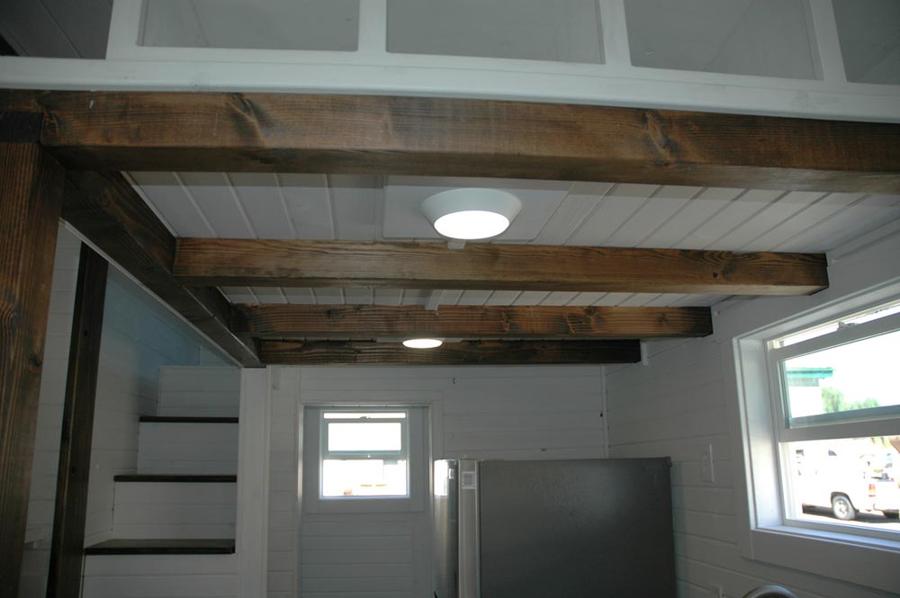 Exposed beam ceiling - Clear Creek by Tiny Idahomes