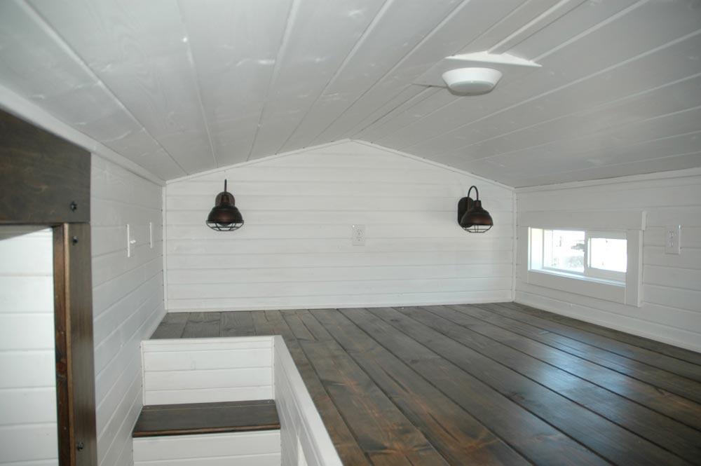 Bedroom loft - Clear Creek by Tiny Idahomes