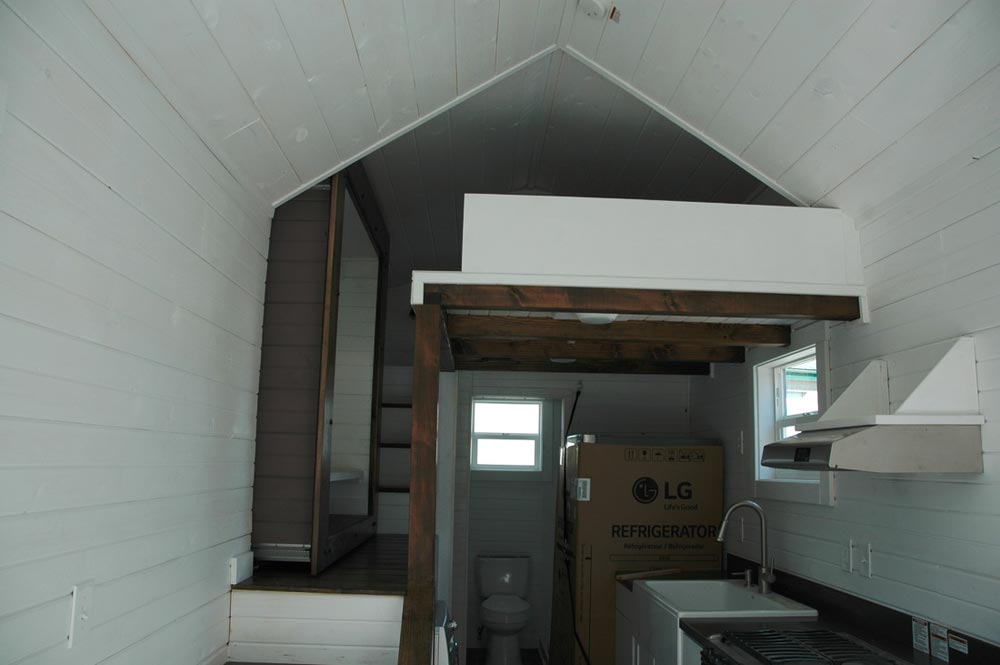 Interior view - Clear Creek by Tiny Idahomes