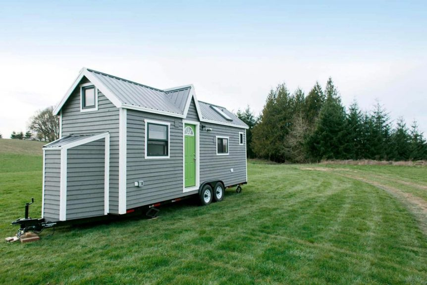 24' Tiny House on Wheels - Emerald by Tiny Heirloom