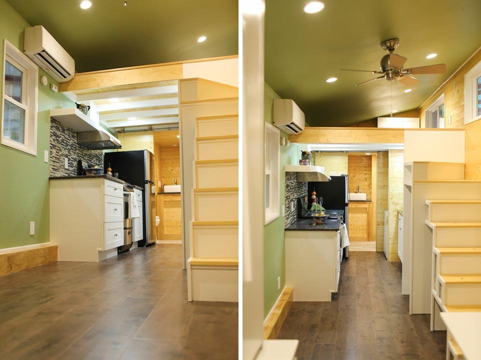 Interior Views - Fontana by Cornerstone Tiny Homes