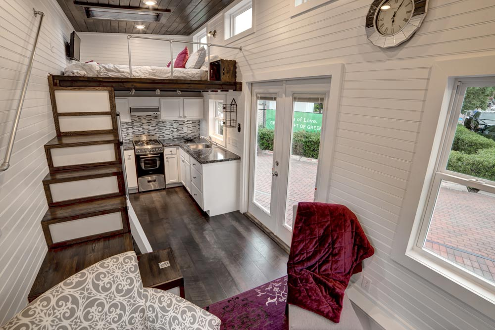 Interior View - Freedom by Alabama Tiny Homes