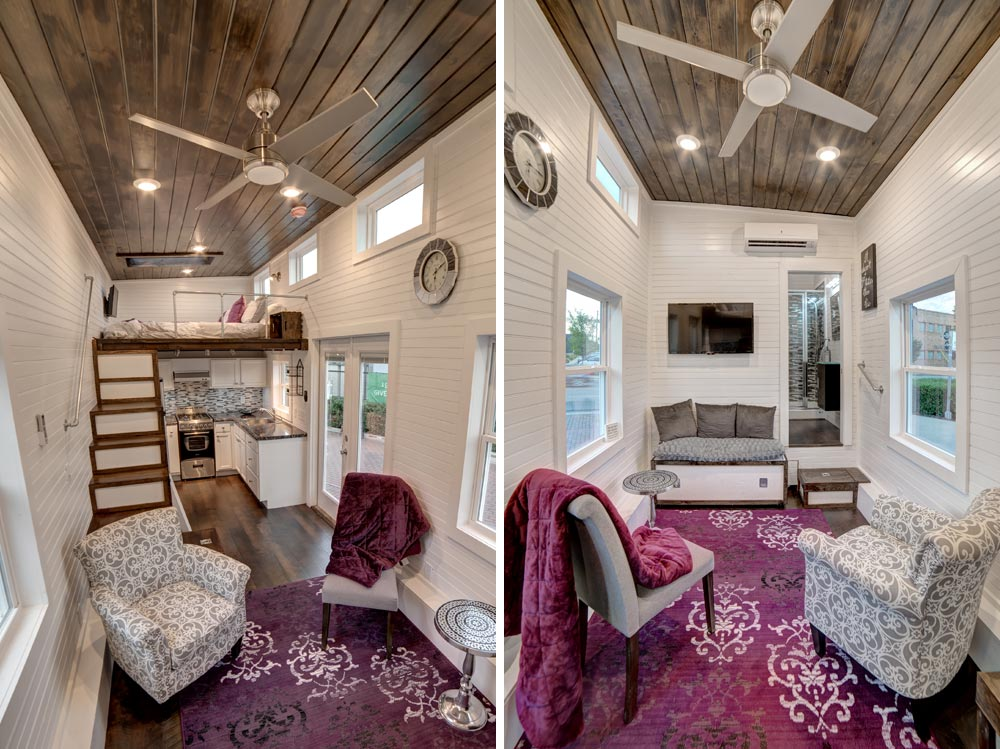 Interior views freedom by alabama tiny homes