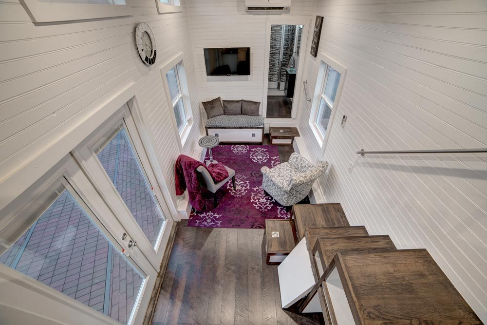 Aerial View - Freedom by Alabama Tiny Homes