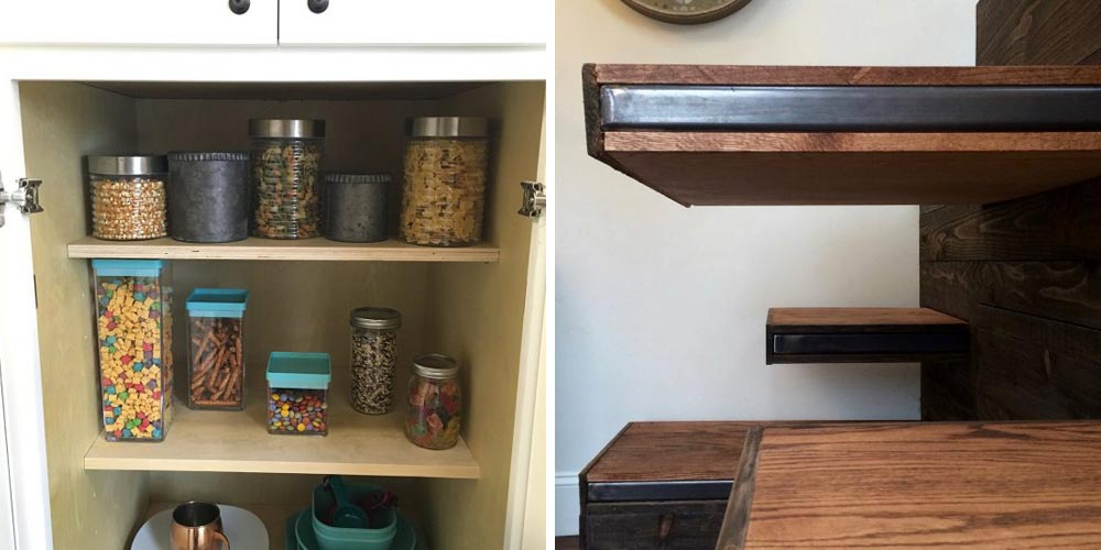 Storage and shelving - Vintage Glam by Tiny Heirloom