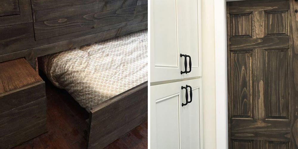 Under bed drawer and storage - Vintage Glam by Tiny Heirloom