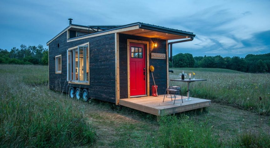 340 sq.ft. off-grid house - Greenmoxie Tiny House