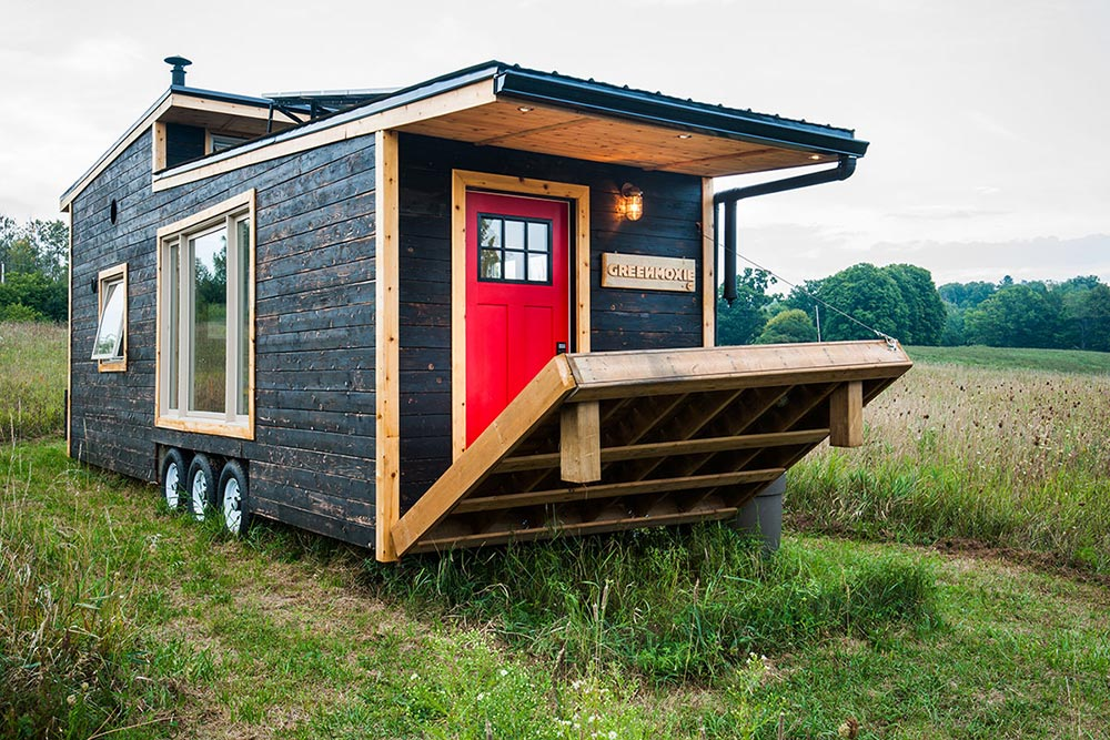 Electric Draw Bridge Deck - Greenmoxie Tiny House