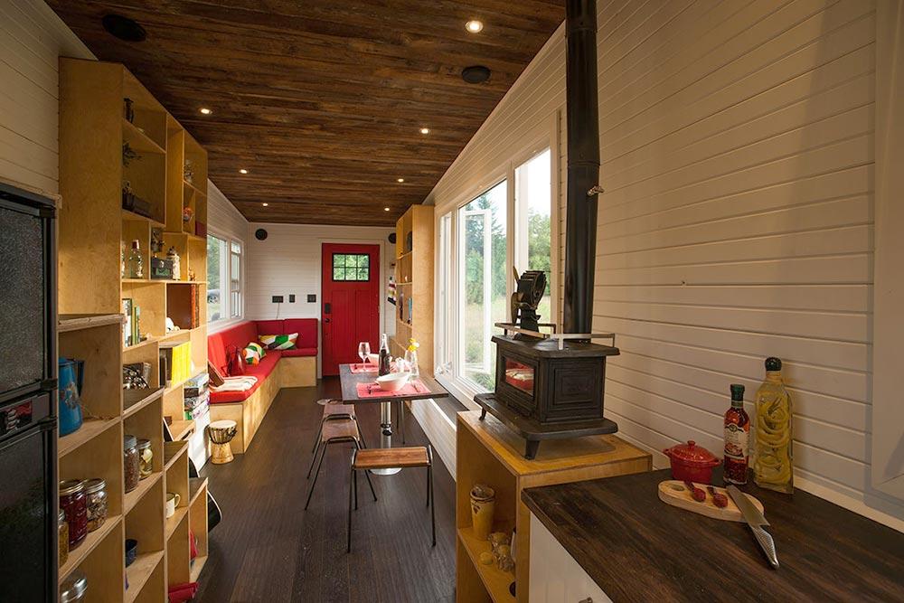 30' Tiny House Interior - Greenmoxie Tiny House