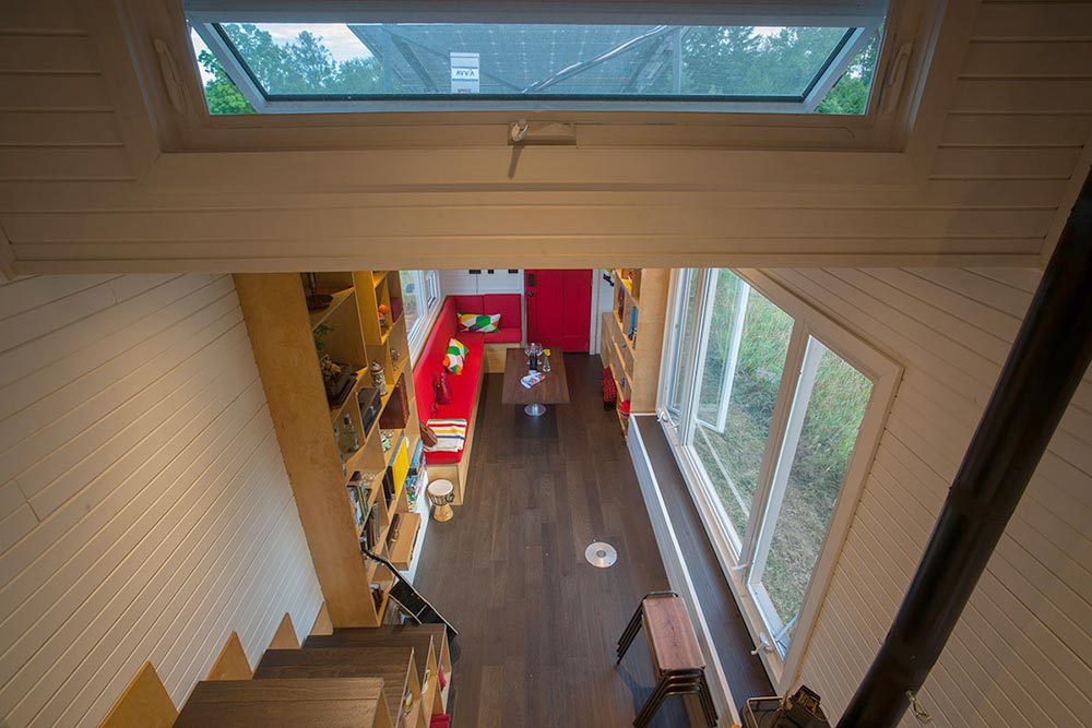 Aerial View - Greenmoxie Tiny House