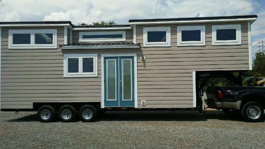 Best in Show at the 2016 Tiny House Jamboree - Lookout by Tiny House Chattanooga