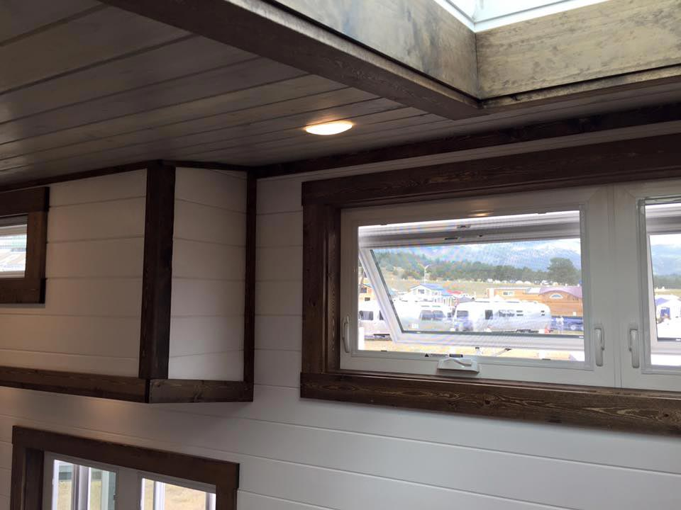 Skylight and window - Lookout by Tiny House Chattanooga