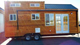 24' Tiny House on Wheels - Phoenix by Tiny Idahomes