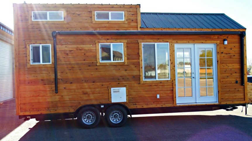 24' Tiny House on Wheels - Phoenix by Tiny Idahomes